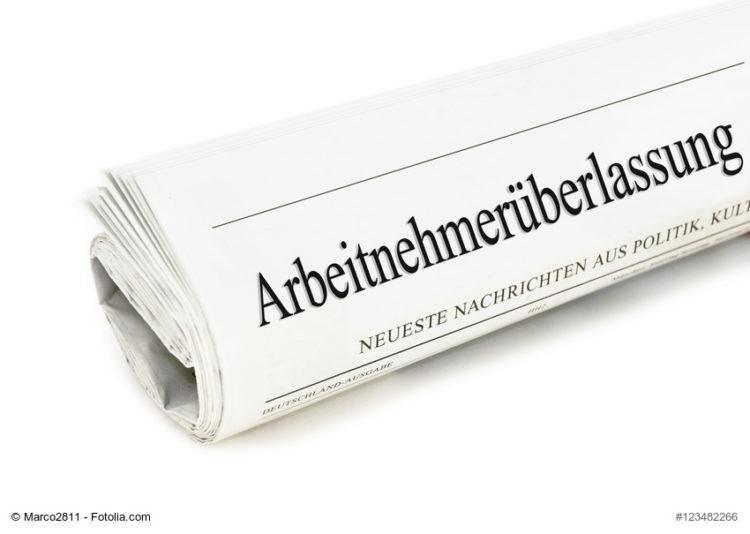 News zum Thema Arbeitnehmerüberlassung