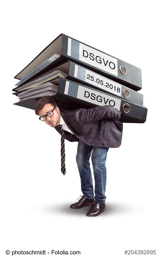 Auch Personaldienstleister ächzen unter der Umsetzung der neuen Datenschutz-Grundverordnung.
