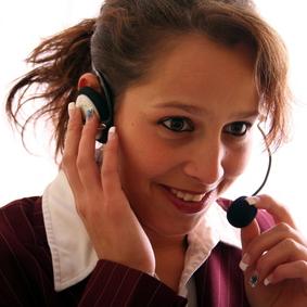 Mitarbeiterin in der Kundenbetreuung ERHARD Services GmbH