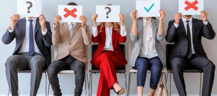 Was für ein Bewerbertyp bist du? Wir stellen dir eine Reihe typisch schräger Bewerber vor, die für uns zum normalen Bewerberalltag gehören.